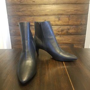 Black Christian Siriano Heeled Boots
